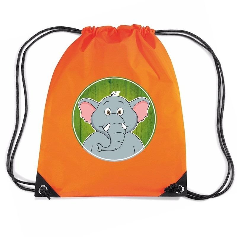 8569ec517ce Olifanten rugtas / gymtas oranje voor kinderen voor maar € 7.95 bij ...